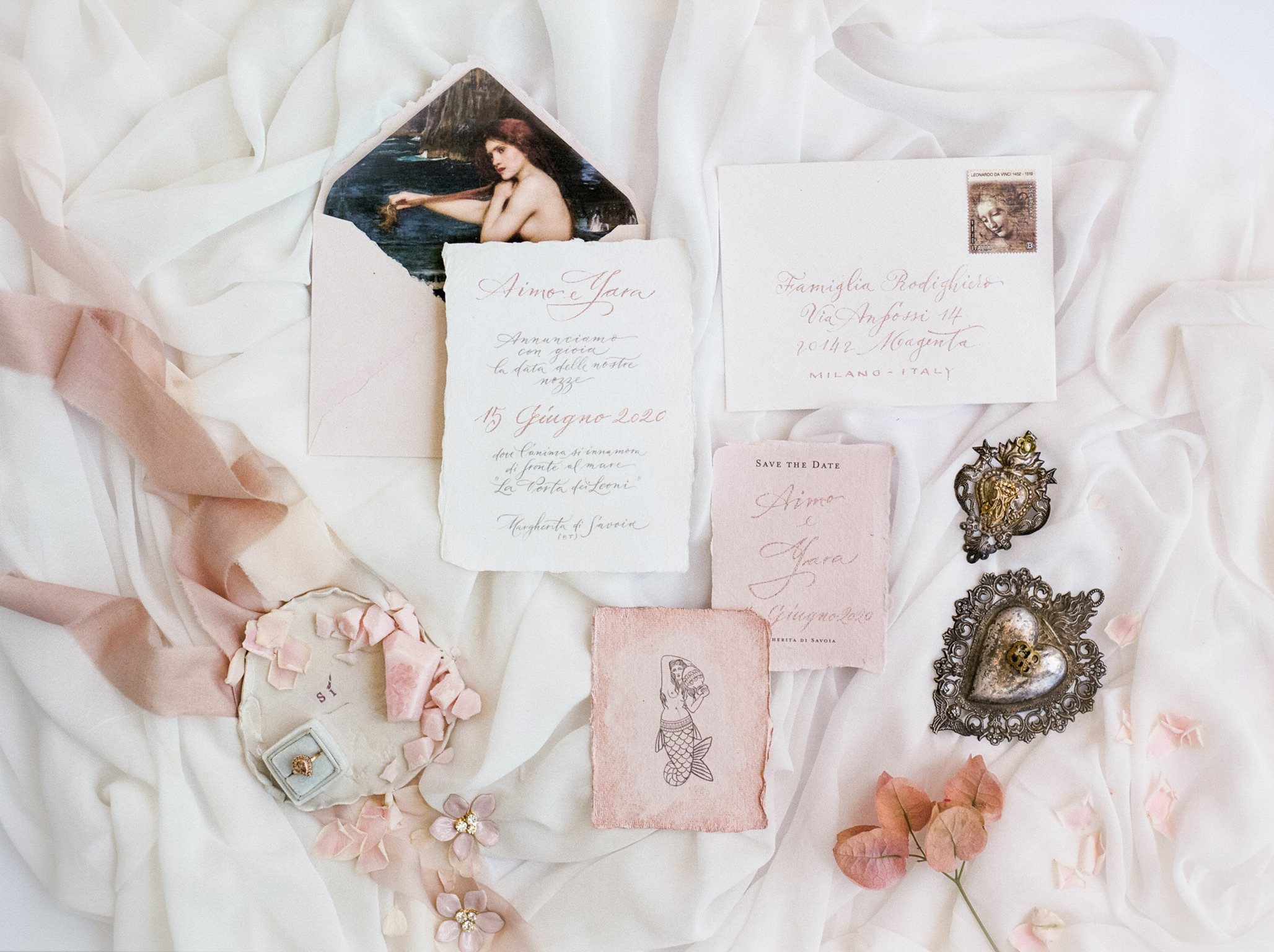Beautiful Letters Calligraphy Invitations